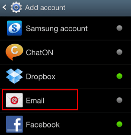 android-add-imap-email-account