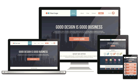 D1 Fully Responsive Web Design